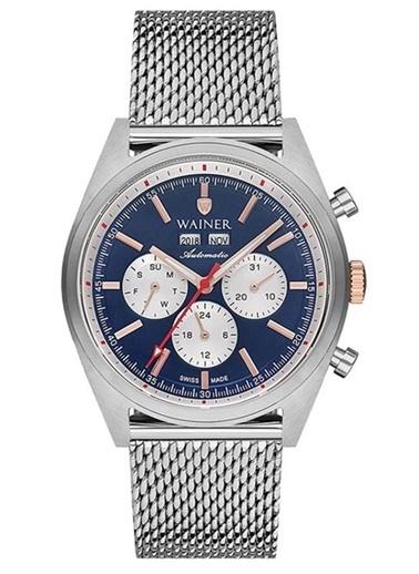 Wainer Wa.25920-B Erkek Kol Saati , Automatic Swiss Made , Safir Cam Gri